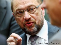 SPD-Chef Schulz wirft Merkel vor, den Menschen ihr wahres Ich zu verheimlichen