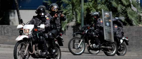 SECURITY FORCES IN VENEZUELA