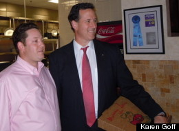 Santorum Pizza