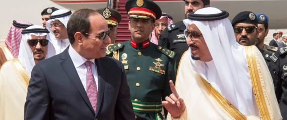 SISI AND KING SALMAN