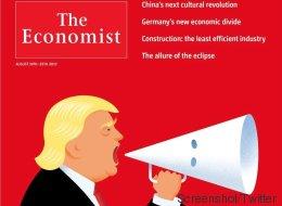 Britisches Magazin bringt auf seinem aktuellen Cover Trumps heikles Verhältnis zum Ku-Klux-Klan auf den Punkt