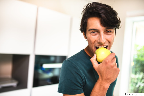 man fruit
