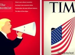 Trump und der Klan: Drei der wichtigsten Magazine der Welt behandeln den rechten Hass in den USA