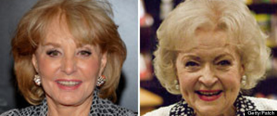 Barbara Walters Betty White