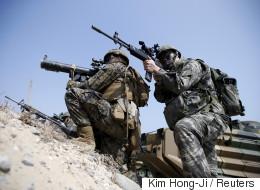 한·미연합 훈련 참가 미군 규모가 축소됐다