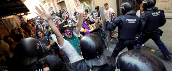 BARCELONA CLASHES