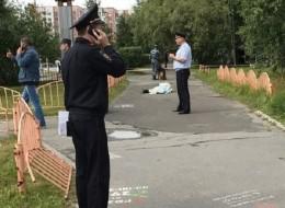 بالفيديو.. الشرطة الروسية تقتلُ رجلاً بعد جرحه ثمانية أشخاصٍ بسكين