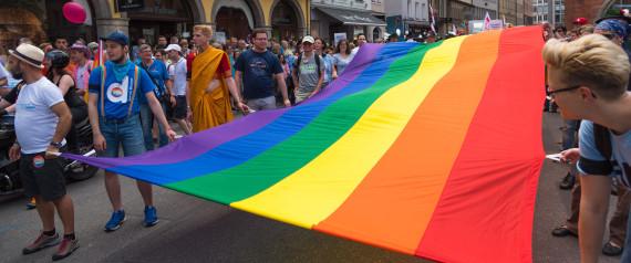 LGBT DEMONSTRATION GERMANY