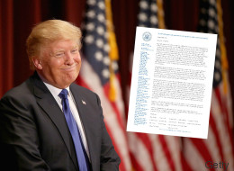 Ein offizieller Brief an Trump sorgt für Wirbel - er soll eine versteckte Botschaft enthalten