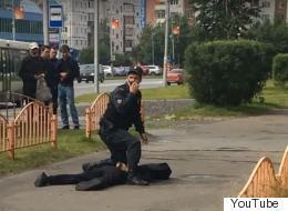 러시아에서 흉기 난동 사건으로 7명 부상(영상)