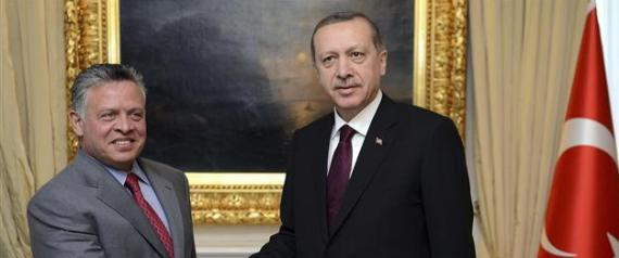 ERDOGAN AND KING OF JORDAN