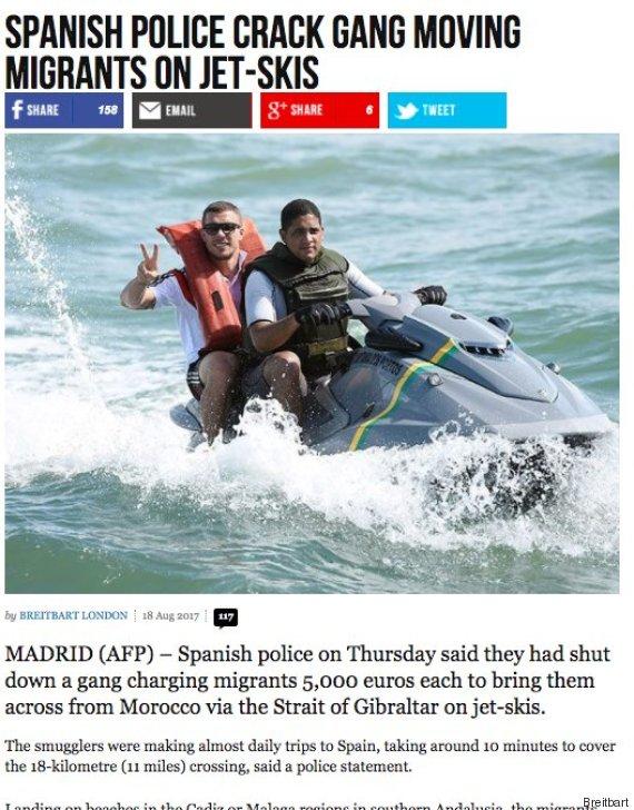 Rechte Webseite macht Poldi zum Flüchtling