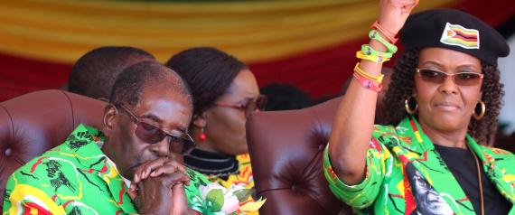 WIFE OF MUGABE