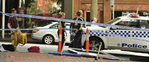 ATTACK IN MELBOURNE