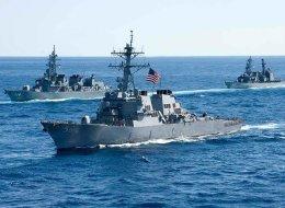 فقدان 10 جنود أميركيين في تصادم مدمرة على متنها صواريخ موجهة مع ناقلة نفط