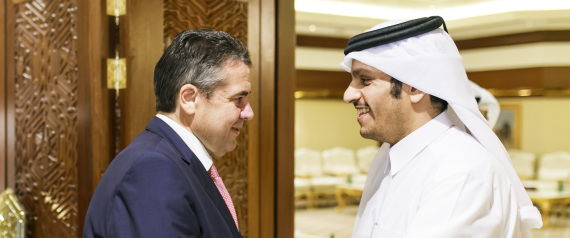 GERMAN FOREIGN MINISTER IN QATAR
