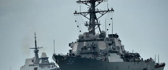 DESTROYER USS SINGAPUR