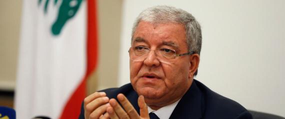LEBANESE INTERIOR MINISTER