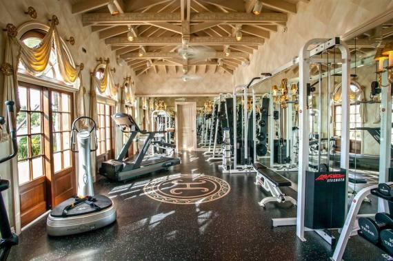 trumpvilla fitnessraum