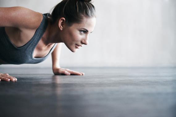 women exercise sport