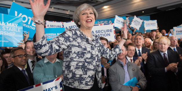 Simon Brodkin Pranks Theresa May At Tory Conference