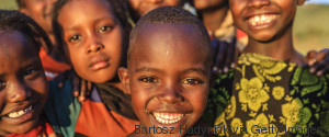 HAPPY AFRICAN KIDS