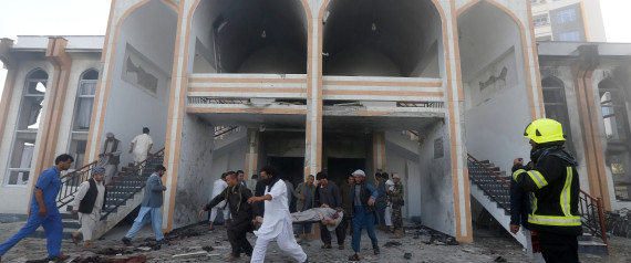 KABUL ATTACK MOSQUE