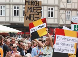Kanzlerin Merkel tritt in Sachsen-Anhalt auf - und wird lauthals ausgebuht