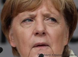 Buhrufe und Pfiffe: Merkel muss Rede in Sachsen-Anhalt mehrmals unterbrechen