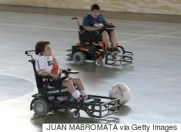 How Powerchair Football Helped Me Accept My Disability
