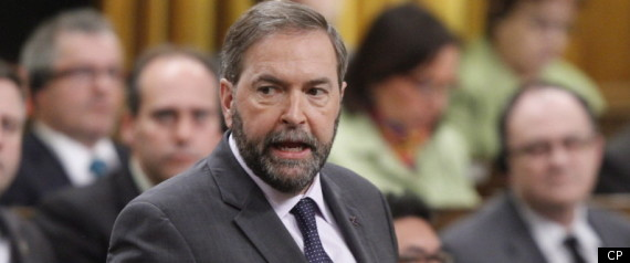 CANADA BUDGET 2012 OPPOSITION