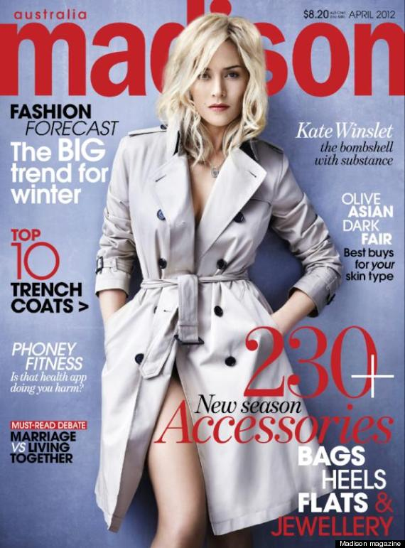 Kate Winslet Isn T Looking Quite Herself On The Cover Of