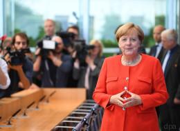 Die 8 wichtigsten Aussagen und Momente von Merkels Sommer-Pressekonferenz