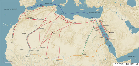 african routes to mecca