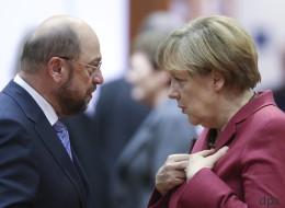 Auf diese Gesten und Floskeln sollten die Zuschauer beim TV-Duell zwischen Merkel und Schulz achten