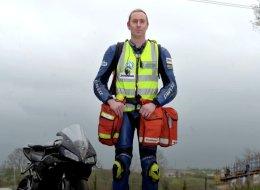 كان يقود الدراجات النارية لإنقاذ المصابين.. تعرفوا على