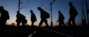 Boarder Refugees Austria