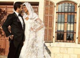 شاهد الرقصة الأولى من زفاف وسام بريدي وريم السعيدي