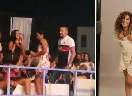 فيديو: دينا الشربيني تحضر حفلاً لعمرو دياب.. رقصت مع أغنية من الألبوم الجديد