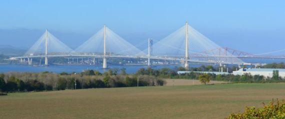 THE NEW QUEENSFERRY CROSSING OVER THE FIRTH OF FOR