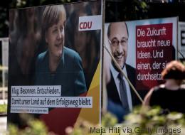 Hat Schulz eine Chance? Alle Umfrage-Werte, die ihr vor dem TV-Duell kennen müsst