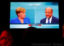 Nach 35 Minuten kennen viele Zuschauer den Sieger des TV-Duells – es ist weder Merkel noch Schulz