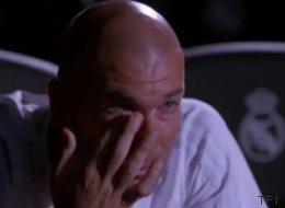 TF1 a réussi à faire pleurer Zinedine Zidane