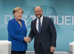 Trotz fehlendem Schlagabtausch sehen die deutschen Medien einen klaren Sieger im TV-Duell