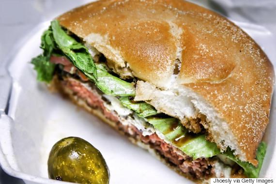 burger patty rare