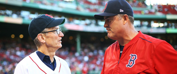TIM COOK BOSTON RED SOX