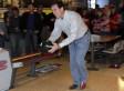 Rick Santorum During Bowling Alley Visit: 'Friends Don't Let Friends Use Pink Balls'