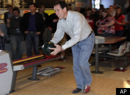 Rick Santorum Bowling Alley