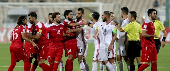 SYRIA IRAN FOOTBALL