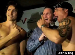 Justin Trudeau Boxing Weigh In